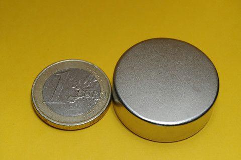 Iman neodimio Disco 30x10mm – La tienda magnética Imanes de Neodimio