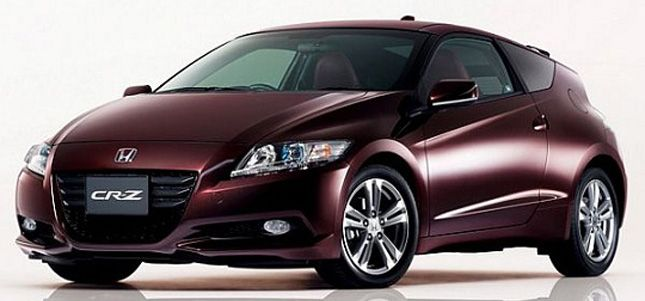Nuova Honda CRZ