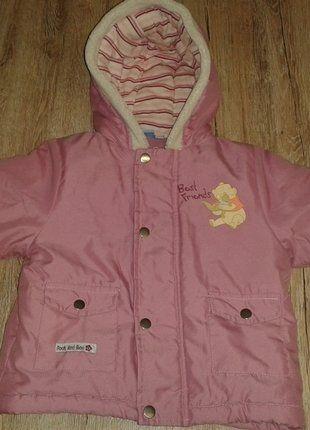Kaufe meinen Artikel bei #Mamikreisel http://www.mamikreisel.de/kleidung-fur-madchen/outdoorbekleidung-jacken/33160717-madchen-winterjacke-von-winnie-pooh-gr-80