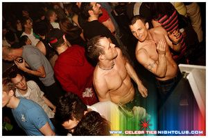 vancouver nightlife: davie street - Image Courtesy of Celebrities Nightclub