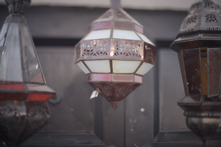 Marrakesh Design lamps from Morocco