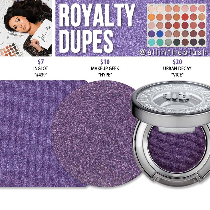 Morphe x Jaclyn Hill Royalty Eyeshadow Dupes [The Jaclyn Hill Palette