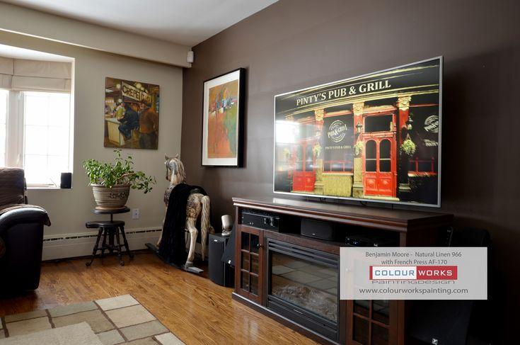 Colour Series Living Room  #torontopainters  #gtapainters  #housepainting  #interiorpainting  #residentialpainting  #benjaminmoore  #awardwinner