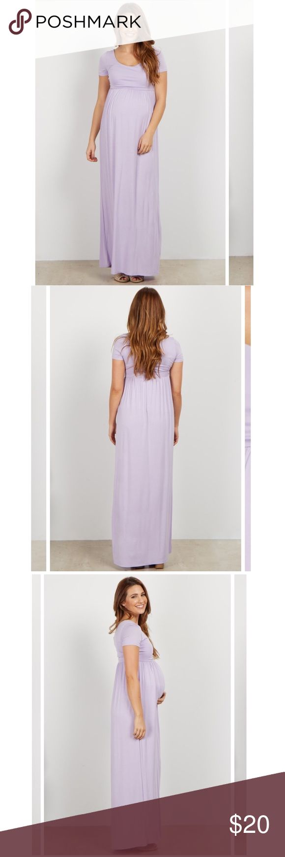 Pink Blush Maternity Maxi EUC, no signs of wear. Super cute and comfy maxi dress that can be worn throughout a pregnancy and after, very flattering as non-maternity style as well. Pinkblush Dresses Maxi