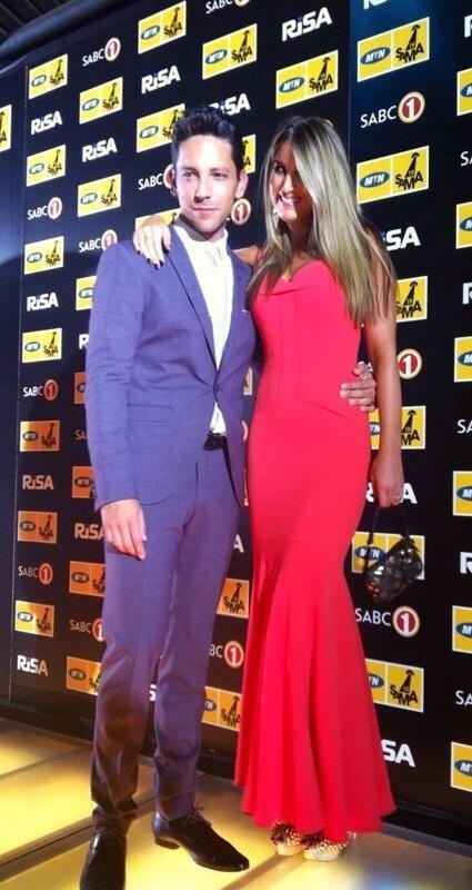 SAMA Yellow Carpet   Danny K and wifey