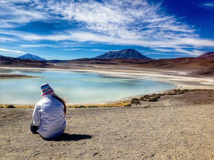 Lagunas. (Salar de Uyuni, Bolivia) #salardeuyuni #uyuni #saltflats #southamerica #travel #laguna