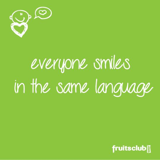 Quote Everyone Should Smile: Languages & Translations Images
