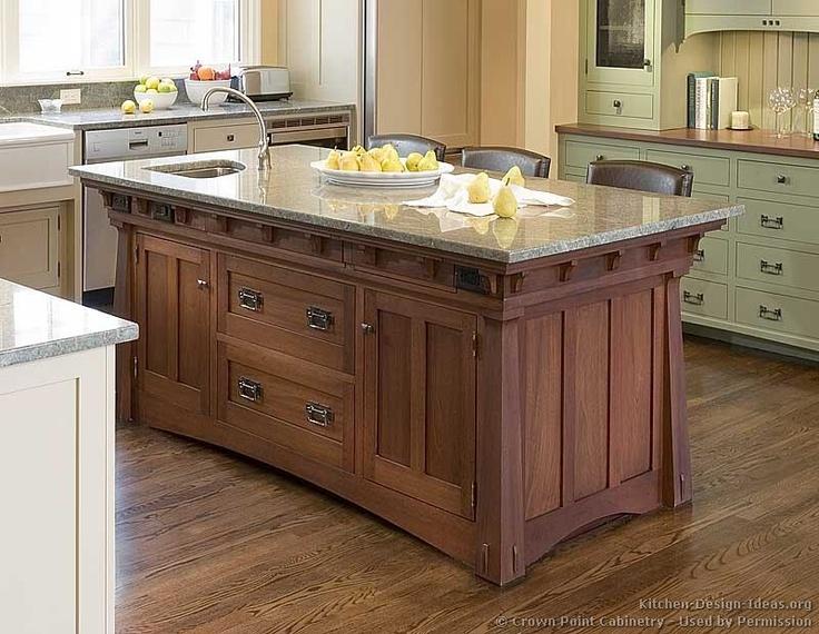 Craftsman style cabinetry