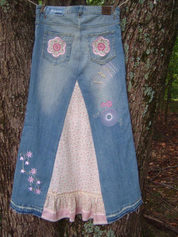 best 25 blue jean skirts ideas on pinterest blue jean dress recycled denim and denim aprons