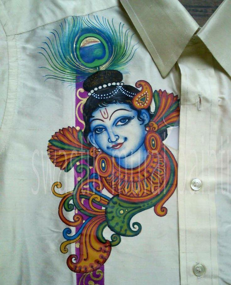 45 best painting images on pinterest for Asha mural painting guruvayur