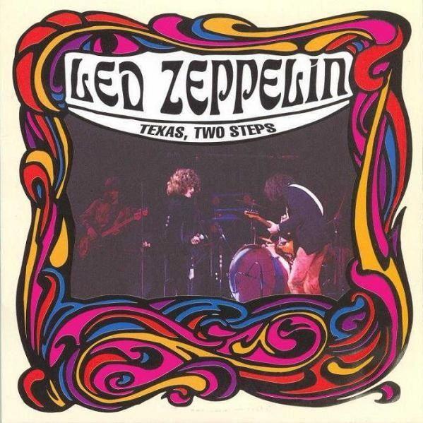 Led Zeppelin Texas Two Steps 2cd Album Covers