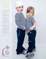 Dětské rostoucí kalhoty NAVY Kliknutím zobrazíte detail obrázku.