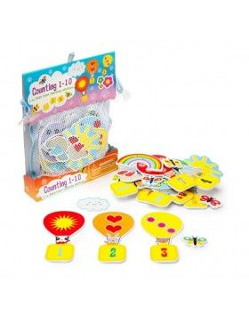 Bath Time Stickers Counting 1-10
