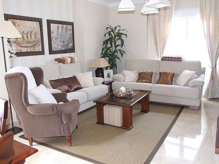 84 best decoraci n de salas images on pinterest living for Ideas para decorar un antejardin pequeno