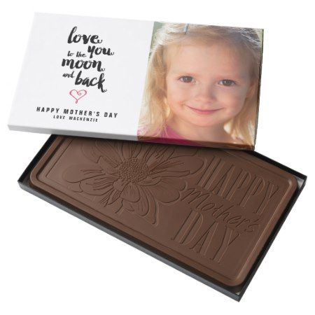 Moon and Back | Mother's Day Photo Chocolate - tap, personalize, buy right now!