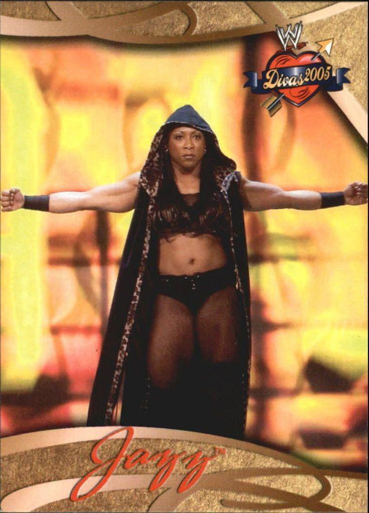 Former WWF WWE Diva Jazz