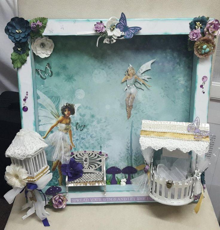 Fairy Frame Kit designed by Lyn Reid for Imagine If. Copyright Imagine If 2016