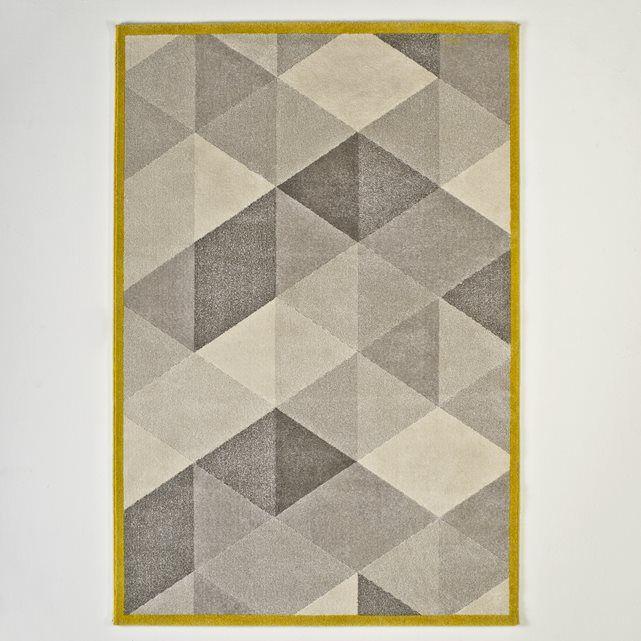 Le tapis Agasta à poil court. Très doux et confortable, il apporte une touche graphique à votre intérieur. Caractéristiques du tapis Agasta :100% polypropylène, 2410g/m²Hauteur des poils : 11.5 mm.Qualité :Le polypropylène repousse les acariens, permet un entretien facile et offre une résistance couleurs optimale.Le traitement heatset concerne les tapis en polypropylène auxquels il donne un aspect laineux non brillant.Dimensions du tapis Agasta :120 x 170 cm160 x 230 cmDimensions et poid...