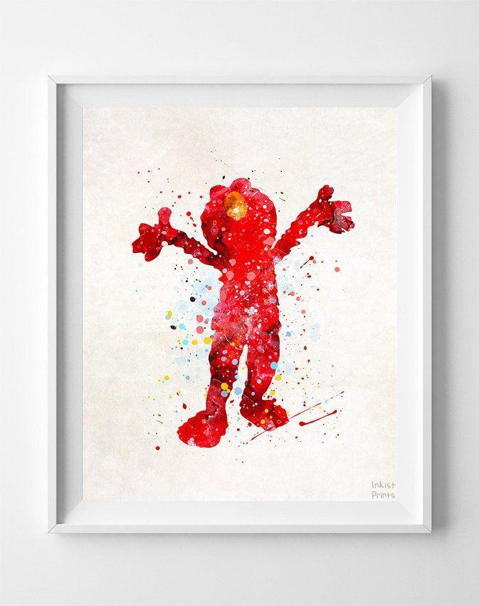 Elmo Bedroom Decorating Ideas: 86 Best Sesame Street Nursery Images On Pinterest