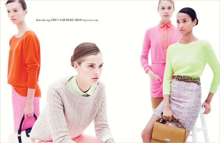 J.Crew nails it every time. Leopard, Neon, Cable-knit, Tweed? I'm in prep-quirk heaven.