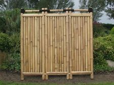 best 25+ bambuszaun ideas on pinterest - Bambus Sichtschutz