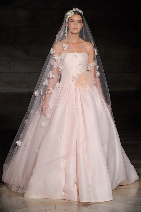 30 Blush Bridal Gowns from New York Bridal Fashion Week