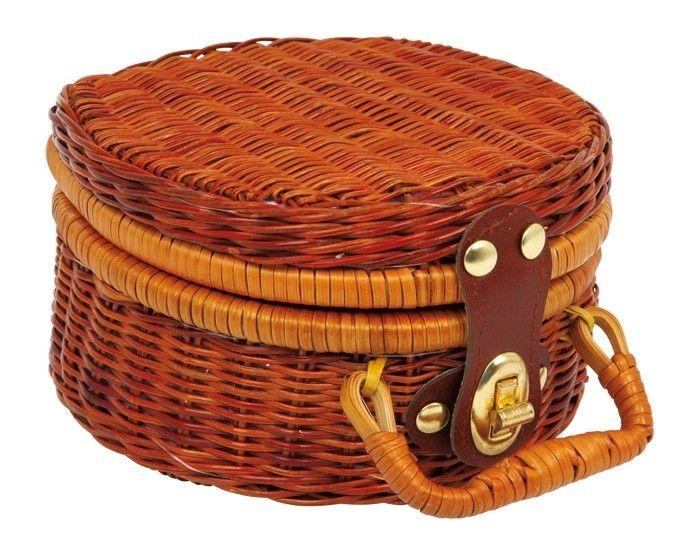 Kuferek piknikowy z zestawem do herbaty kolory-marzen.pl | http://www.kolory-marzen.pl/gotujemy,005001010001.html