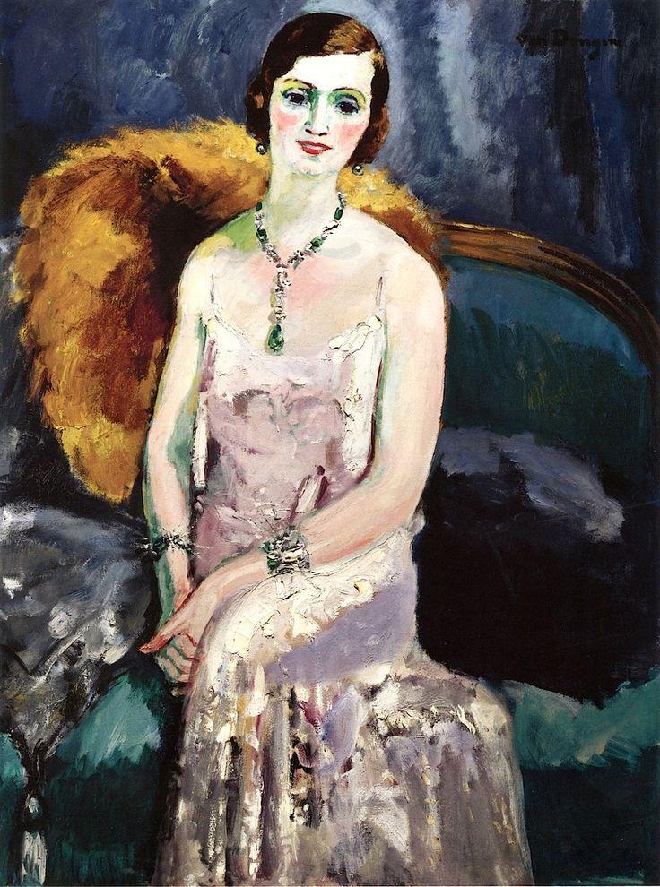 Woman with Jewelry Kees Van Dongen - 1929