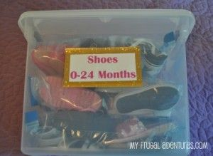 organizing kids shoe clutter