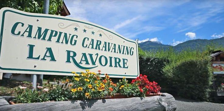 Camping la Ravoire en Haute-Savoie à côté du Lac d'Annecy