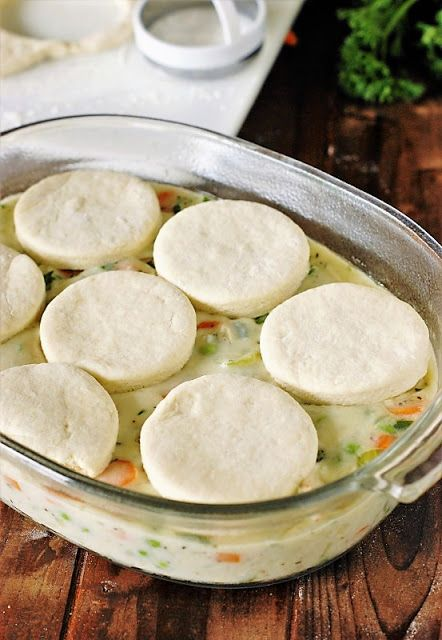 How to Make Biscuit Topping for Chicken Pot Pie image