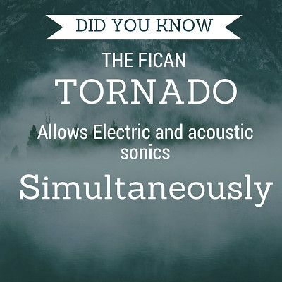 Did you know a guitar can do this?   Try the Fican Tornado today,  support@ficanguitars.com