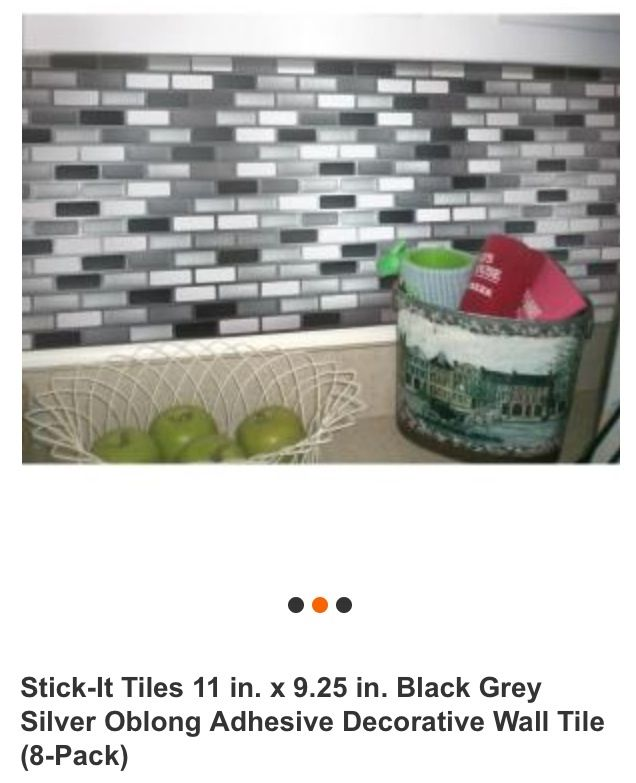 peel and stick backsplash from home depot must have