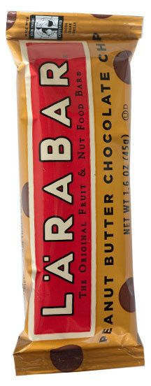 Peanut Butter Chocolate Chip Larabar. Like eating a candy bar without the guilt.: Chips Larabar, Larabar Clcik, Candy Bars, Chocolates Chips, Healthy Snacks, Butter Chocolates, Natural Ingredients, Starbucks Cards, Peanut Butter