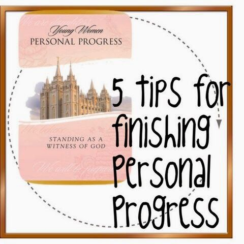 5 Tips for Finishing Personal Progress
