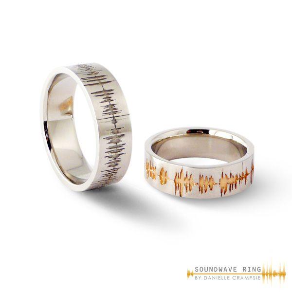 111 Best Custom Soundwave Wedding Engagement Rings