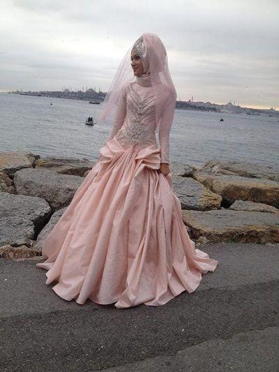 15 Hijab Bridal Styles and Dresses