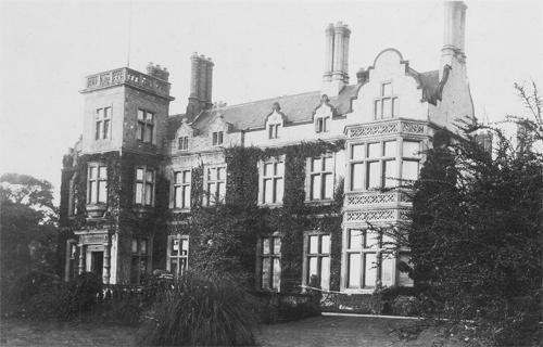 NEW photo: Swanland Manor, Yorkshire, demolished 1935, reason unknown. Reckitt…