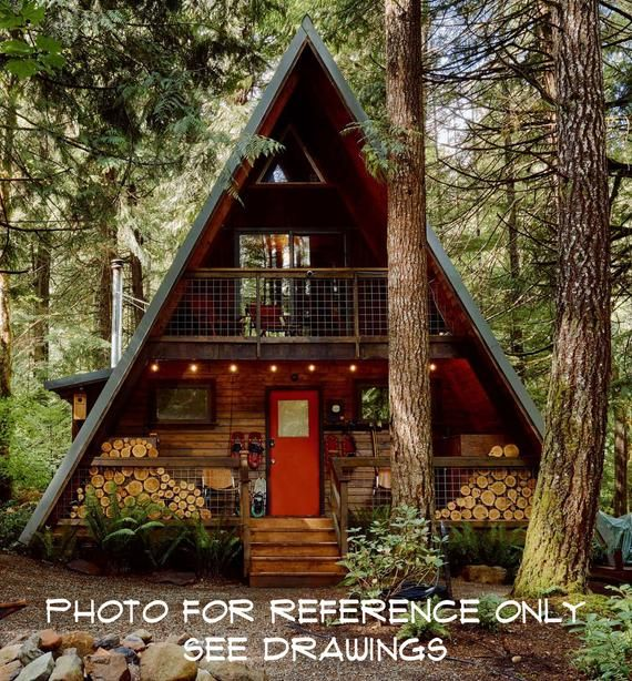 22 X 36 Catskills Vintage Cabin Tiny House A Frame House Design Concept Plans In 2020 Tiny House Exterior A Frame House Plans A Frame Cabin Plans