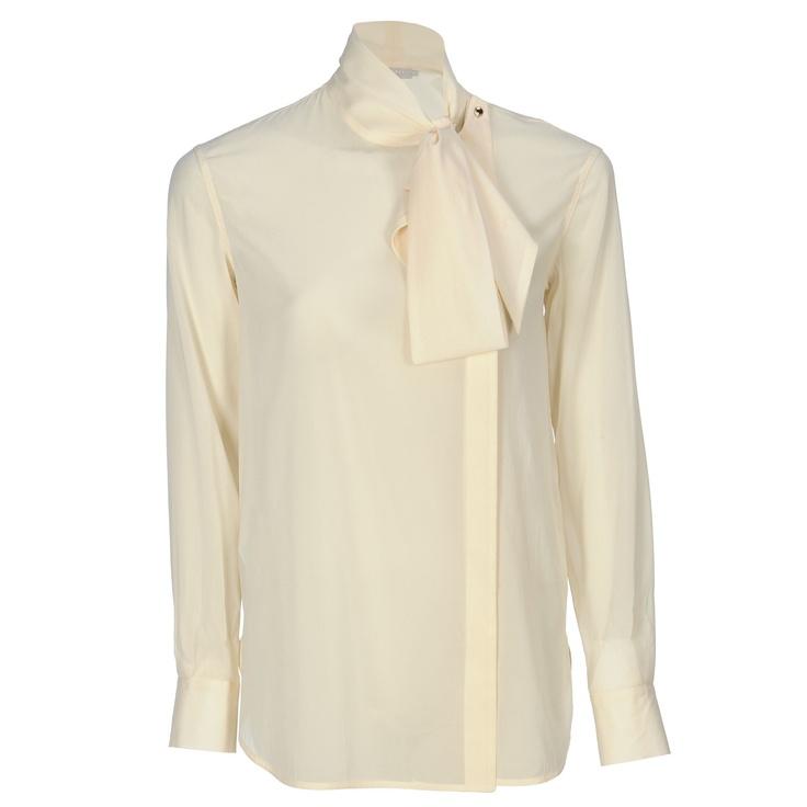 CAMICIA CON FIOCCO - Camicie - Abbigliamento - SHOP ONLINE