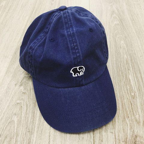 Navy Ella Baseball Cap