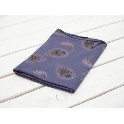 RÓŻOWE PAWIE OCZKA / brązowy - wiskoza #nowość#materiał #dresówka#dzianina#new#fabric#sweatshirt#materials#shop#dresowkapl