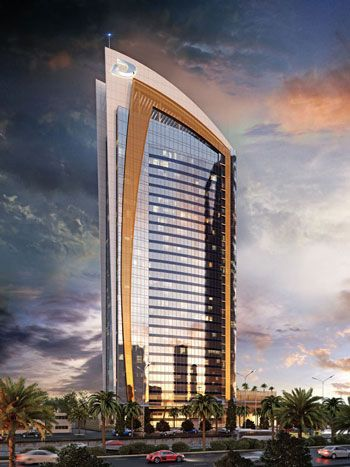 Dubai-based developer Damac says two tower projects in the heart of the Saudi capital of Riyadh have topped out – less than two years into construction.