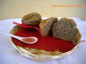 #muffin di #grano #saraceno con #gelatina di #melagrana http://www.glutenfreetravelandliving.it/gffd-ricette/