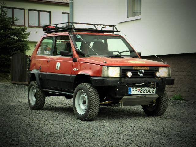 74 best off road images on pinterest 4x4 off road and for Panda 4x4 sisley off road