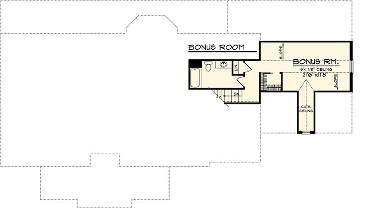 3 Bedroom Rambling Ranch - 89821AH   Craftsman, Northwest, Ranch, 1st Floor Master Suite, Bonus Room, Butler Walk-in Pantry, CAD Available, PDF, Split Bedrooms, Corner Lot   Architectural Designs