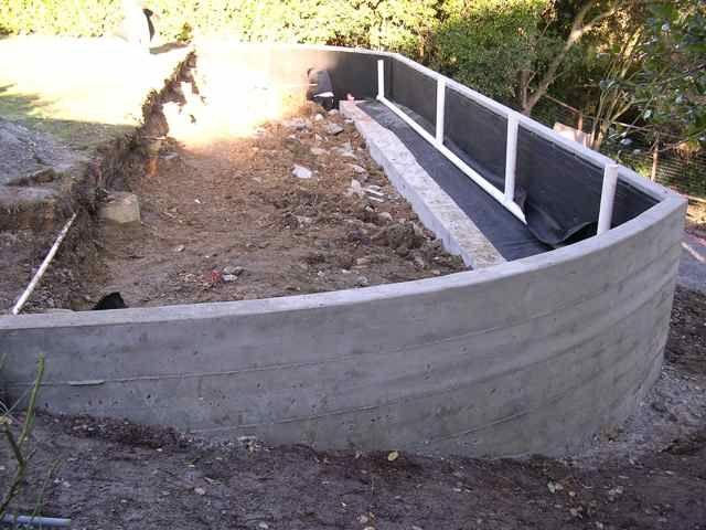 concrete retaining walls forward concrete retaining wall