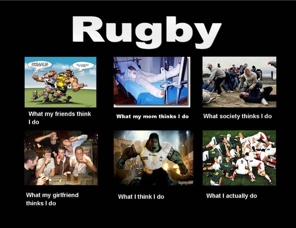 Pretty much describes the mindset!    Find Lucozade Rugby on Facebook - www.facebook.com/lucozadesportrugby