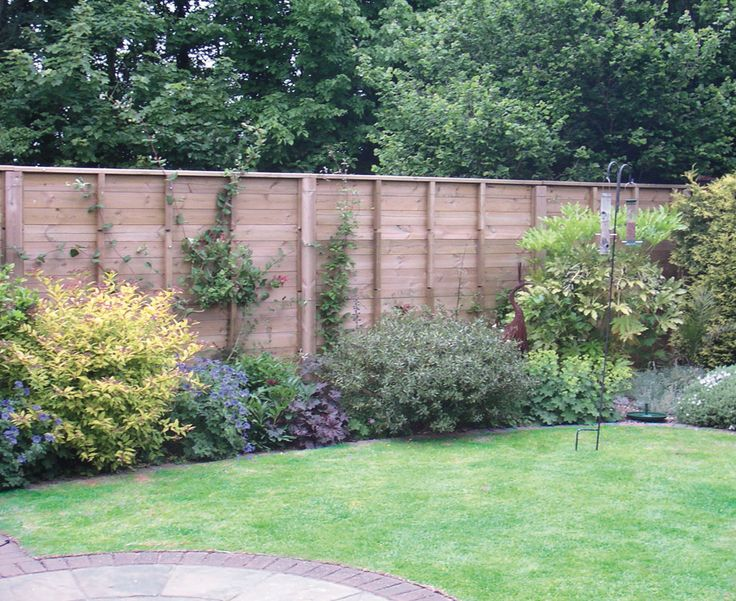 Fencing For Gardens On Pinterest Gardens Seating Areas And Home