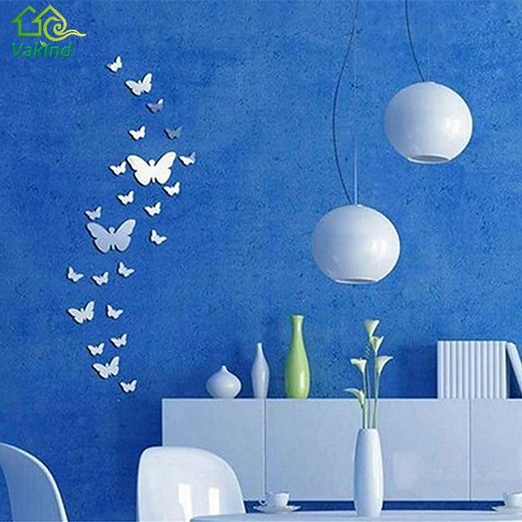 Mirror Butterflies Wall Sticker (25pcs) //Price: $9.99 & FREE Shipping //     #housedecoration